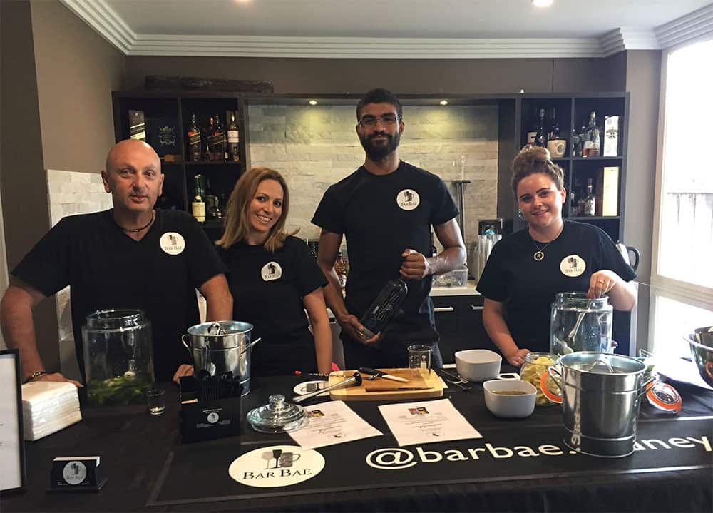 BarBae bar event team