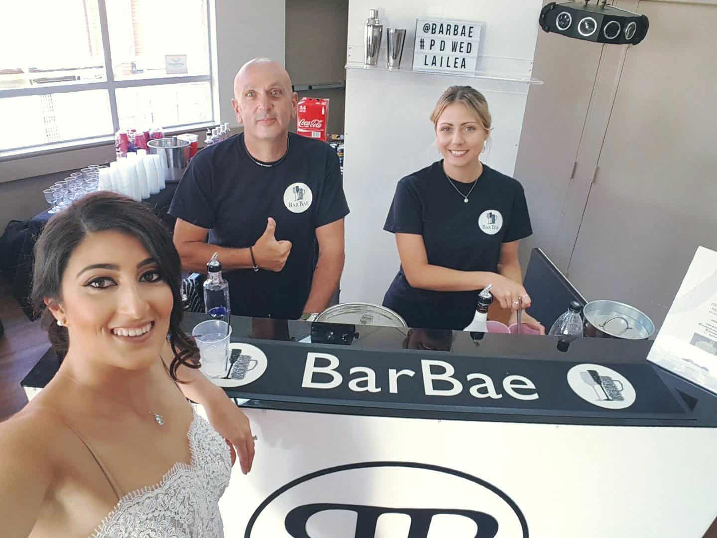 BarBae team selfie