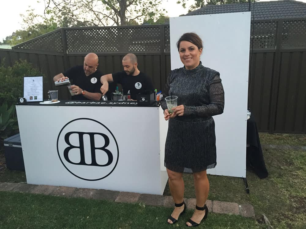 outdoor bar hire sydney