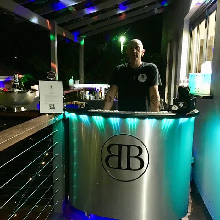 BarBae Silver Cocktail Bar